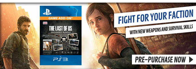 The Last of Us DLC for PlayStation Network - Downloads at GAME.co.uk!