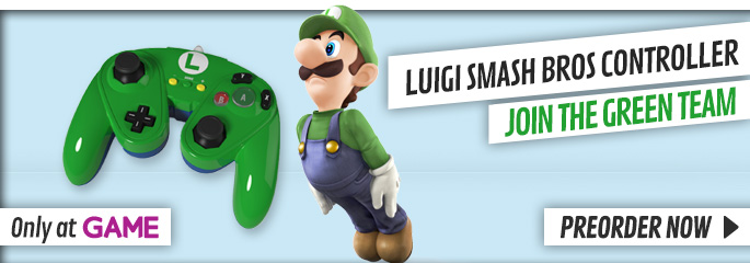 Luigi Fight Pad - Preorder Now at GAME.co.uk!