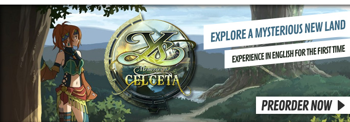 YS: Memories of Celceta for PlayStation Vita - Buy Now at GAME.co.uk!