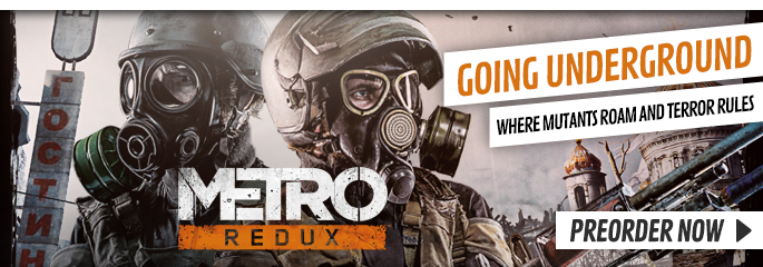 Metro Redux for PC - Buy Now at GAME.co.uk!