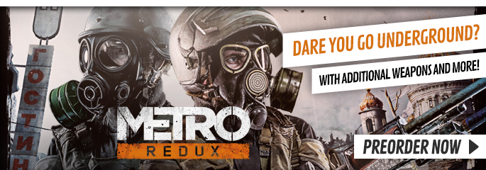 Metro Redux for PC - xx Now at GAME.co.uk!