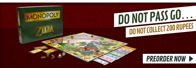 Zelda Monopoly  - Preorder Now at GAME.co.uk!