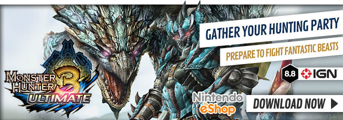 Monster Hunter 3 Ultimate - Download Now at GAME.co.uk!