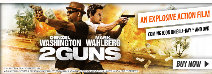 2 Guns - On Blu-Ray and DVD Now at GAME.co.uk!