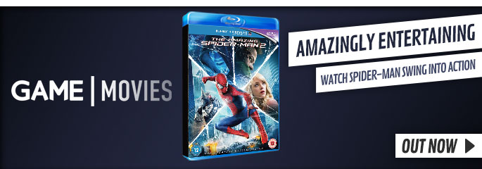 The Amazing Spider-Man 2 - On Blu-Ray and DVD Now at GAME.co.uk!