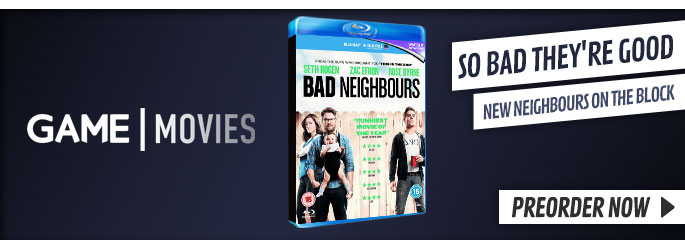 Bad Neighbours - On Blu-Ray and DVD Now at GAME.co.uk!