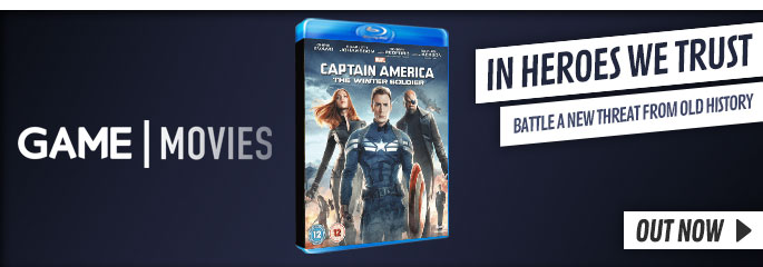 Captain America The Winter Solider- On Blu-Ray and DVD Now at GAME.co.uk!