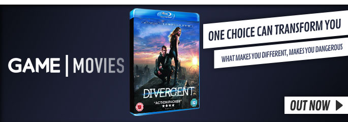 Divergent - On Blu-Ray and DVD Now at GAME.co.uk!