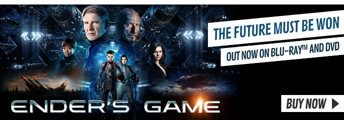 Ender's Game - On Blu-Ray and DVD Now at GAME.co.uk!
