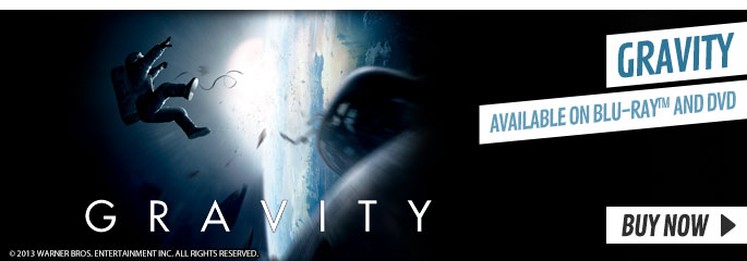 Gravity - On Blu-Ray and DVD Now at GAME.co.uk!