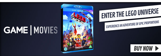 LEGO Movie on BluRay and DVD - Buy now at GAME.co.uk