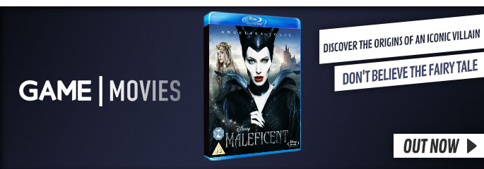 Maleficent - On Blu-Ray and DVD Now at GAME.co.uk!