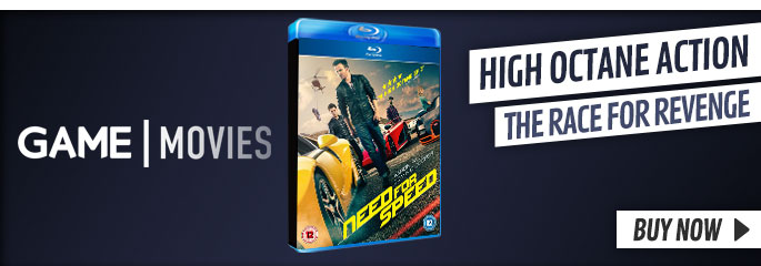 Need for Speed - On Blu-Ray and DVD Now at GAME.co.uk!