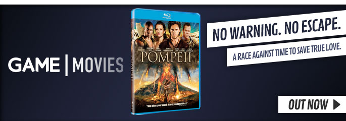 Pompeii - On Blu-Ray and DVD Now at GAME.co.uk!