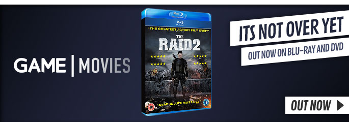 The Raid 2 - On Blu-Ray and DVD Now at GAME.co.uk!