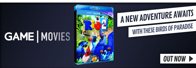 Rio 2 - On Blu-Ray and DVD Now at GAME.co.uk!