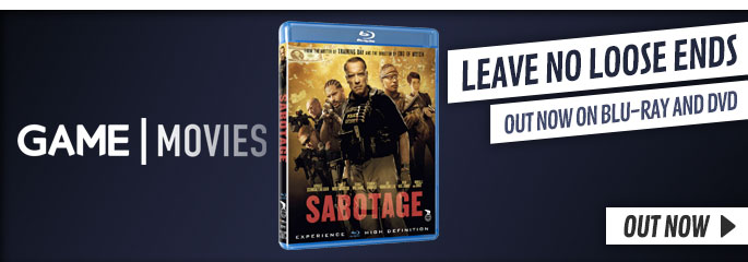 Sabotage - On Blu-Ray and DVD Now at GAME.co.uk!