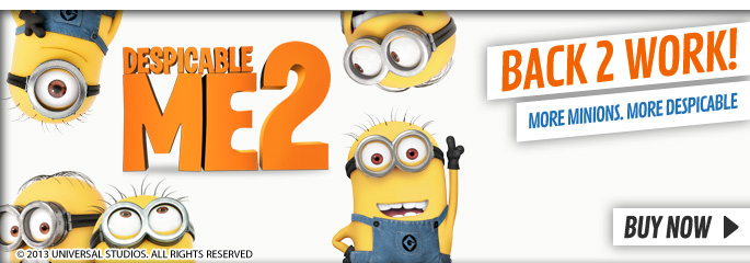 Despicable Me 2 - On Blu-Ray and DVD Now at GAME.co.uk!