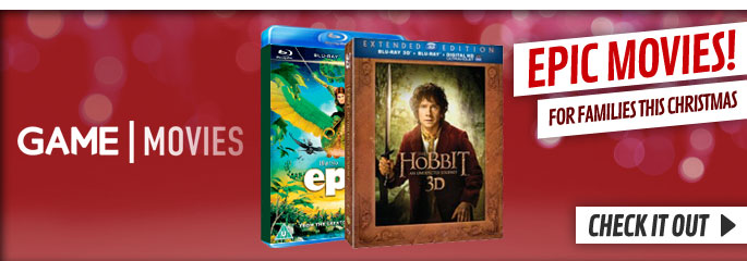 Family Christmas Movies  - On Blu-Ray and DVD Now at GAME.co.uk!