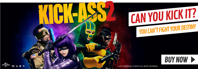 Kick Ass 2 - On Blu-Ray and DVD Now at GAME.co.uk!