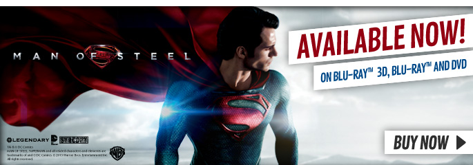 Man of Steel - On Blu-Ray and DVD Now at GAME.co.uk!