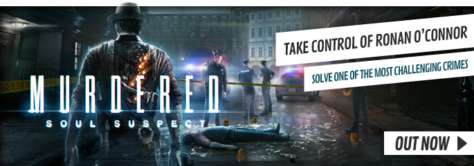 Murdered Soul Suspect for Xbox 360 - Preorder Now at GAME.co.uk!