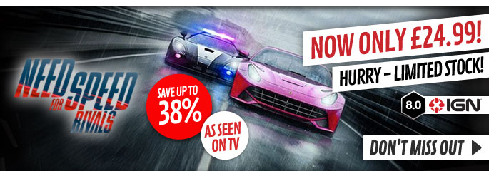 Need for Speed Rivals for Xbox 360 - Buy Now at GAME.co.uk!