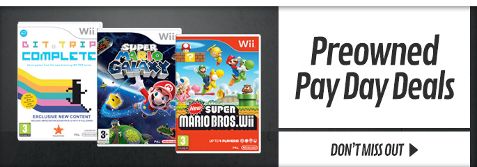 Preowned Bank Holiday Deals for Nintendo Wii - Buy Now at GAME.co.uk!