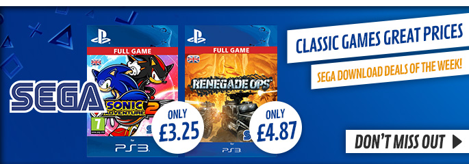 SEGA Downloads Deal of the Week for PlayStation Network - Downloads at GAME.co.uk