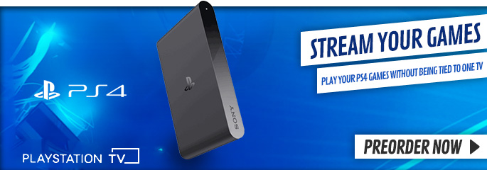 PlayStation TV - Preorder Now at GAME.co.uk!