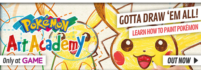 Pokemon Art Academy for Nintendo 3DS - Buy Now at GAME.co.uk!