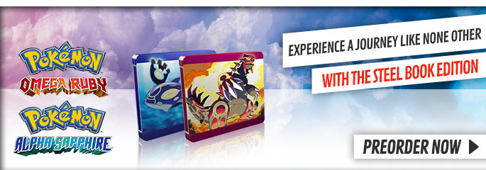 Pokemon Omega Ruby and Alpha Sapphire Exclusive for Nintendo 3DS - Preorder Now at GAME.co.uk!
