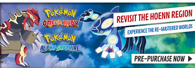 Pokémon Omega Ruby & Pokémon Alpha Sapphire for Nintendo eShop - Download Now at GAME.co.uk!