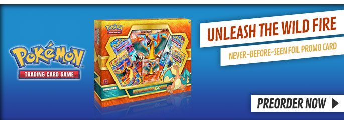Pokémon Charizard-EX Trading Card Box- Preorder Now at GAME.co.uk!!