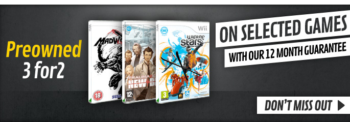 Preowned 3 for 2  for Nintendo Wii - Save Now at GAME.co.uk!