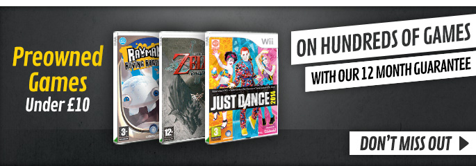 Preowned Games Under £10  - Buy Now at GAME.co.uk!