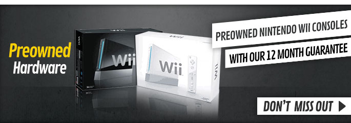 Preowned Nintendo Wii Consoles - Don't Miss Out at GAME.co.uk!