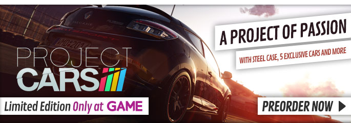 Project Cars Limited Edition for PC - Preorder Now at GAME.co.uk!