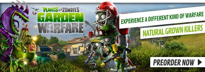 Plants Vs Zombies for PlayStation 3  - Preorder Now at GAME.co.uk!