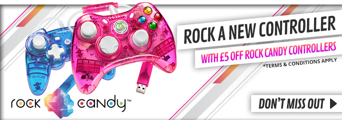 £5 off Rock Candy Controllers - Buy Now at GAME.co.uk!
