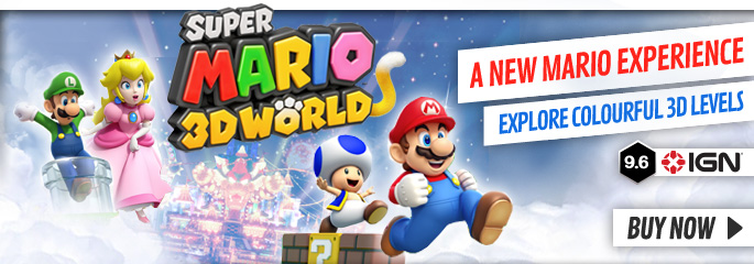 Super mario 3D World - Order Now at GAME.co.uk
