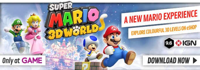 Super Mario 3D World - Download Now at GAME.co.uk!