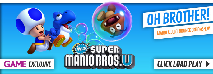 Super Mario Bros U for Nintendo eShop - Download Now at GAME.co.uk!