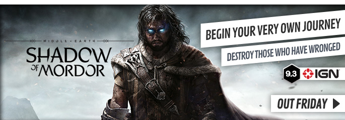 Middle Earth: Shadow of Mordor for PC - Preorder Now at GAME.co.uk!