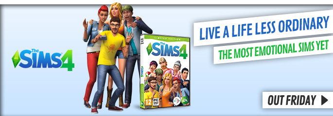 Sims 4 for PC - Preorder Now at GAME.co.uk!