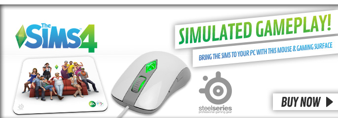 Sims 4 Mouse and Gaming Surface - Preorder Now at GAME.co.uk!