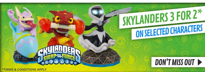 Skylanders 3 for 2 - Buy Now at GAME.co.uk