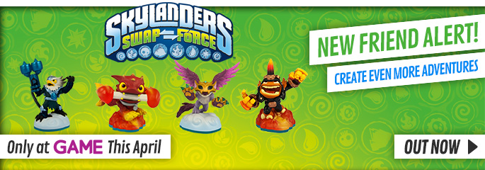 Skylanders New Characters for Nintendo 3DS - Buy Now at GAME.co.uk!