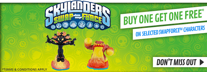 Skylanders BOGOF for Nintendo 3DS -  Buy Now at GAME.co.uk!