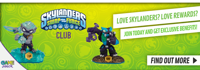 Skylanders Swap Force Club for Nintendo Wii - Now at GAME.co.uk!